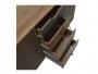 Μπουφές Boho με πέντε συρτάρια καρυδί μεταλλικά πόδια 122x39,5x86εκ.  066-000006 - 7