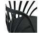 Καρέκλα ANAIS σε μαύρο χρώμα HM8049.02 - 7