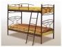 Μεταλλικό Κρεβάτι Κουκέτα Κρίκος 90Χ190 - 1