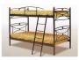 Μεταλλικό Κρεβάτι Κουκέτα Mαργαρίτα 90Χ190 - 1