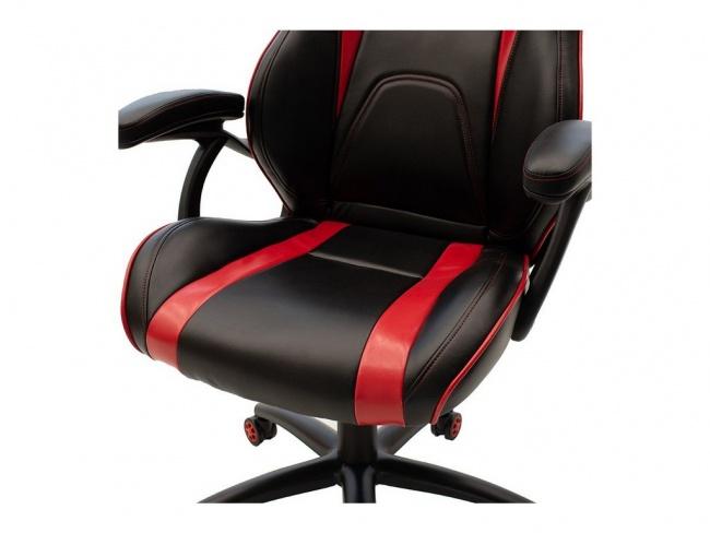 Καρέκλα γραφείου Schumacher gaming  απο pu χρώμα μαύρο-κόκκινο  095-000005 - 5