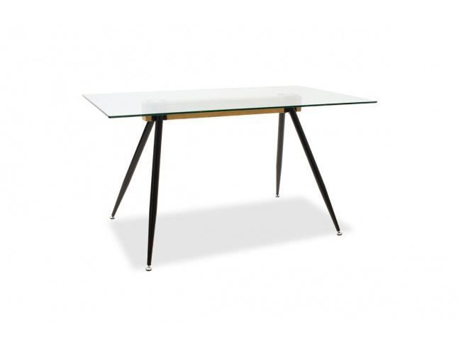 Τραπέζι Astrid γυάλινο 10χιλ - πόδι μαύρο 101-000019 - 5
