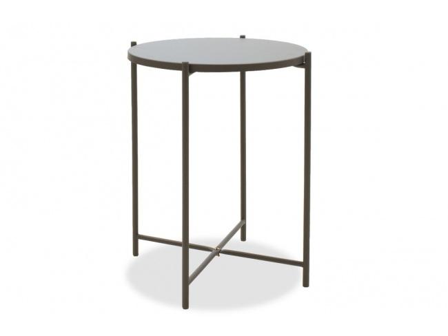Βοηθητικό τραπέζι σαλονιού Lima ανθρακί 43.5x43.5x53εκ 104-000011 - 5