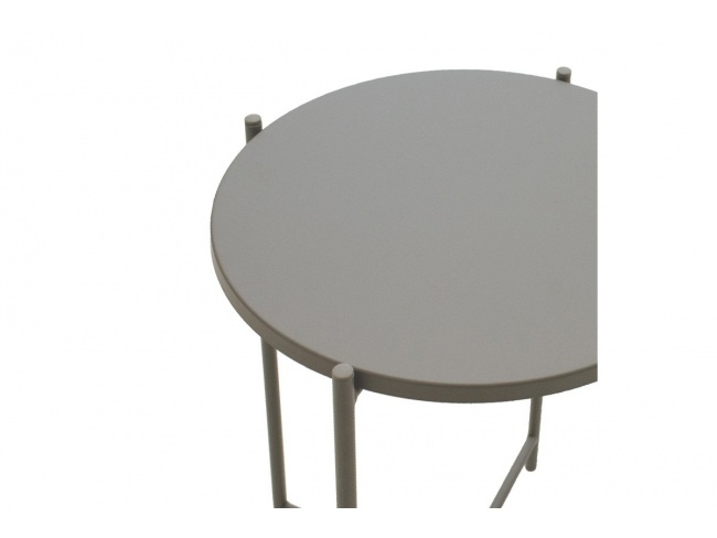Βοηθητικό τραπέζι σαλονιού Lima ανθρακί 43.5x43.5x53εκ 104-000011 - 3