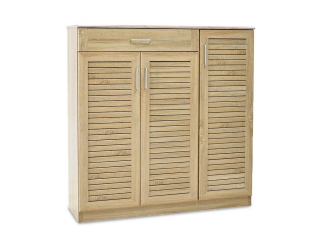 Παπουτσοθήκη-ντουλάπι SANTE 30 ζεύγων χρώμα sonoma 120x37x123 εκ.  123-000003 - 5