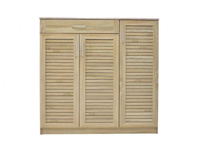 Παπουτσοθήκη-ντουλάπι SANTE 30 ζεύγων χρώμα sonoma 120x37x123 εκ.  123-000003 - 3