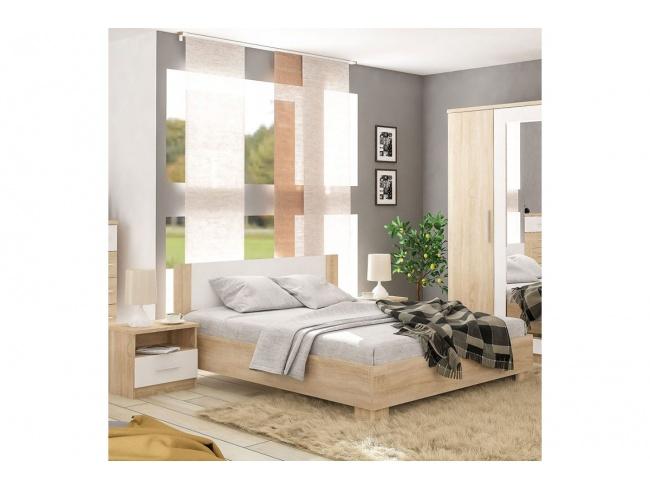 Συρταριέρα Geneva 4ων συρταριών φυσικό-λευκό 103x40x92εκ 173-000016 - 2