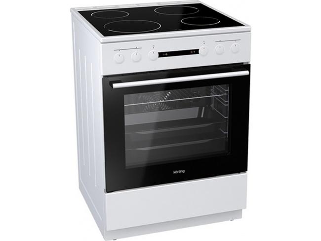 Korting Κουζίνα 71lt με Εστίες Κεραμικές KEC 6151 WPG 71lt - 1