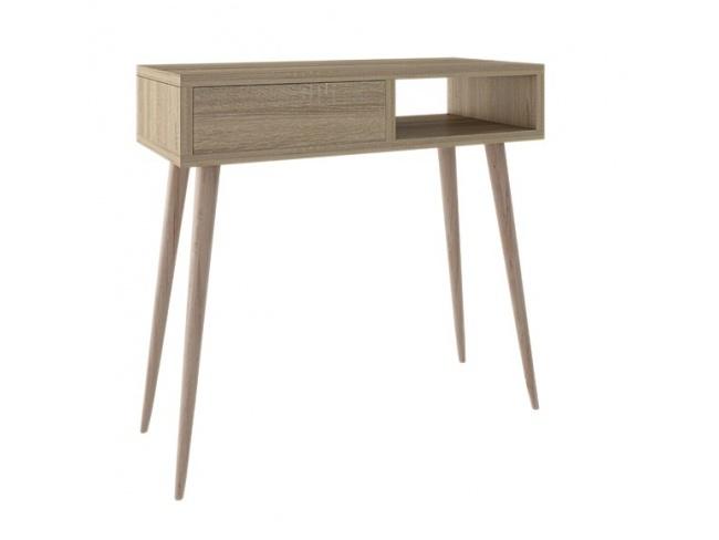 Τουαλέτα 1συρτ. 1κενό ξύλινο πόδι Chest of drawer 1drawer 1gap wooden leg 86x90x40 11720901 - 1