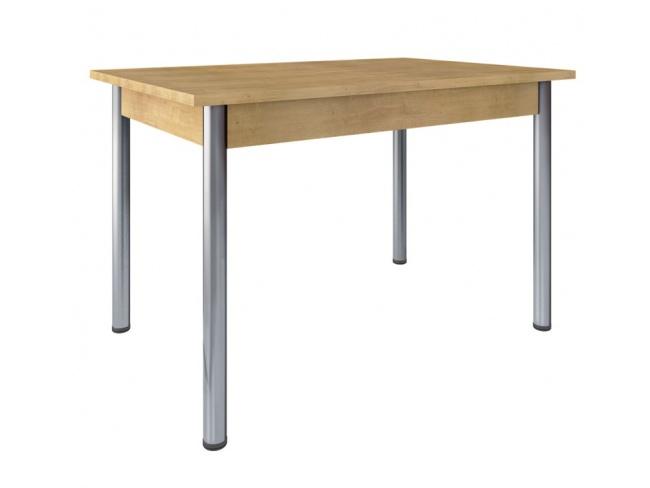 Τραπέζι κουζίνας ίνοξ πόδι  Kitchen table inox leg 75x80x80  11420803 - 1