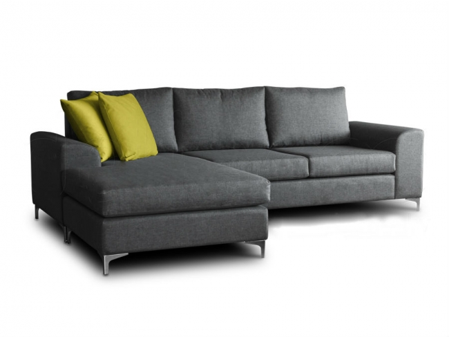 Γωνιακός Καναπές DANIEL  2.55 x1.70 - 2