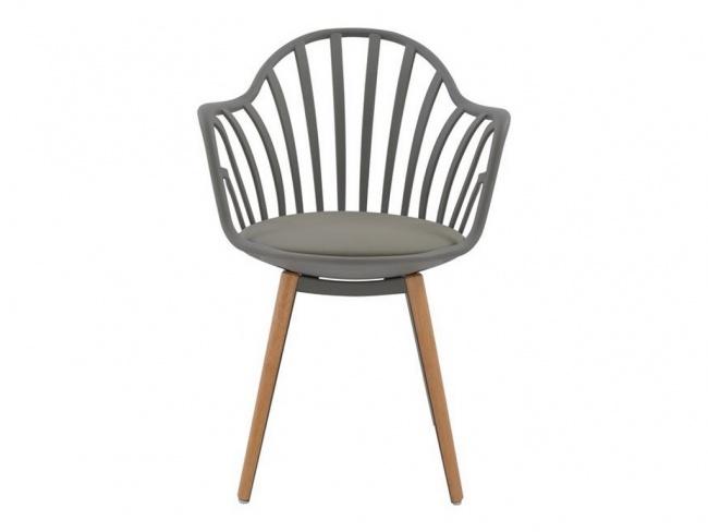 Καρέκλα ANAIS σε γκρι χρώμα HM8049.10 - 3
