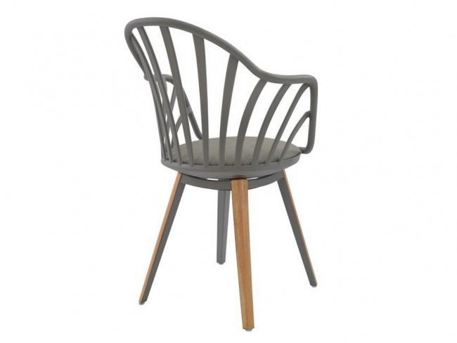 Καρέκλα ANAIS σε γκρι χρώμα HM8049.10 - 5