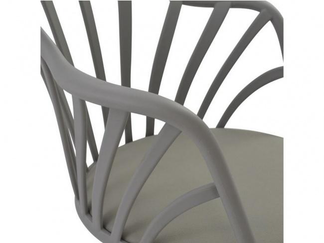 Καρέκλα ANAIS σε γκρι χρώμα HM8049.10 - 7