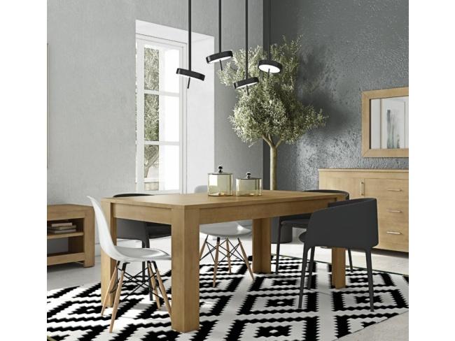 Τραπέζι τραπ/ρίας πόδι  γωνία Dining table angle leg 11421512  77x150x90 - 2