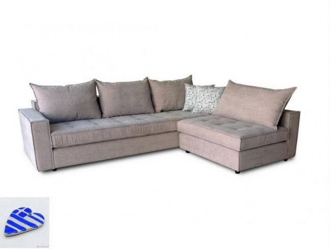 Γωνιακός Καναπές CHRIS 2.55x2.00m - 1