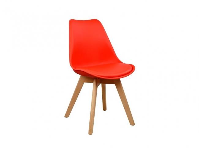 Καρέκλα VEGAS HM0033.04  ΚΟΚΚΙΝΗ - 1
