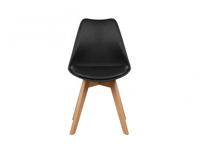 Καρέκλα VEGAS HM0033.02  ΜΑΥΡΟ - 2