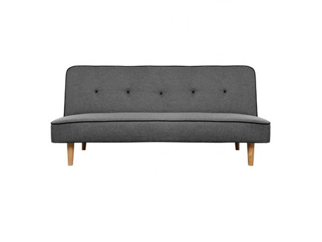 Καναπές ΚΛΙΚ-ΚΛΑΚ  Γκρι BELMONT  HM3026.02  (1.81x0.86m)