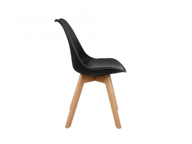 Καρέκλα VEGAS HM0033.02  ΜΑΥΡΟ - 3