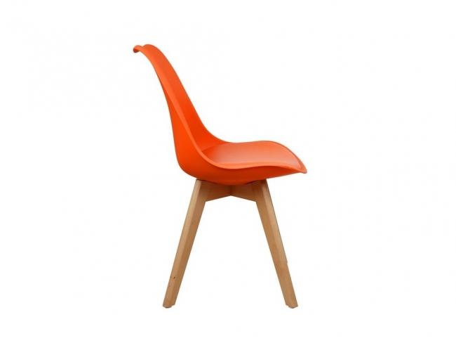 Καρέκλα VEGAS HM0033.05  ΠΟΡΤΟΚΑΛΙ - 3