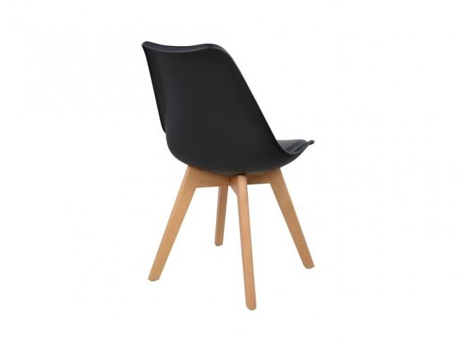 Καρέκλα VEGAS HM0033.02  ΜΑΥΡΟ - 4