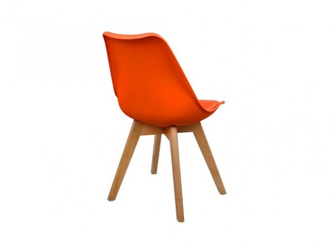 Καρέκλα VEGAS HM0033.05  ΠΟΡΤΟΚΑΛΙ - 4