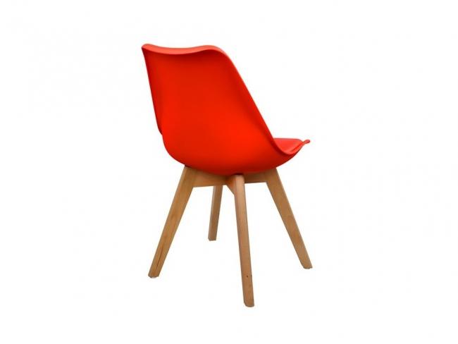 Καρέκλα VEGAS HM0033.04  ΚΟΚΚΙΝΗ - 4
