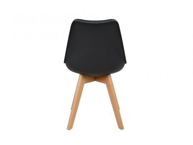 Καρέκλα VEGAS HM0033.02  ΜΑΥΡΟ - 5