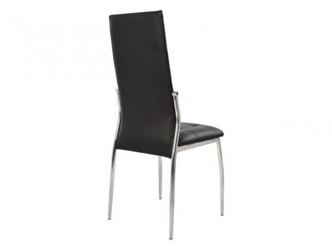 Καρέκλα PILAR HM0176.02 ΜΑΥΡΟ - 5