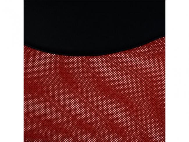 ΚΑΡΕΚΛΑ ΓΡΑΦΕΙΟΥ  MESH ΜΑΥΡΟ-ΚΟΚΚΙΝΟ HM1000.07  61x56x120 εκ. - 6