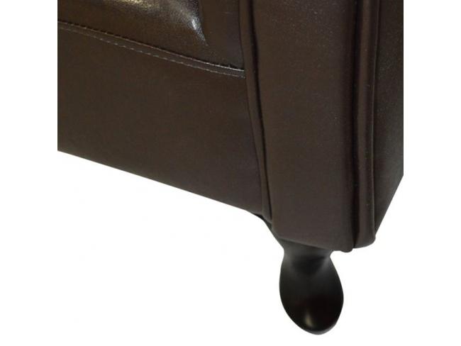 Ανάκλινδρο NIOVI  καφέ σκούρο HM3007.01 (1.90x0.61 cm) - 9