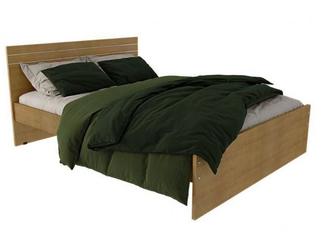 Κρεβάτι Μελαμίνης ALN Ίριδα - 1