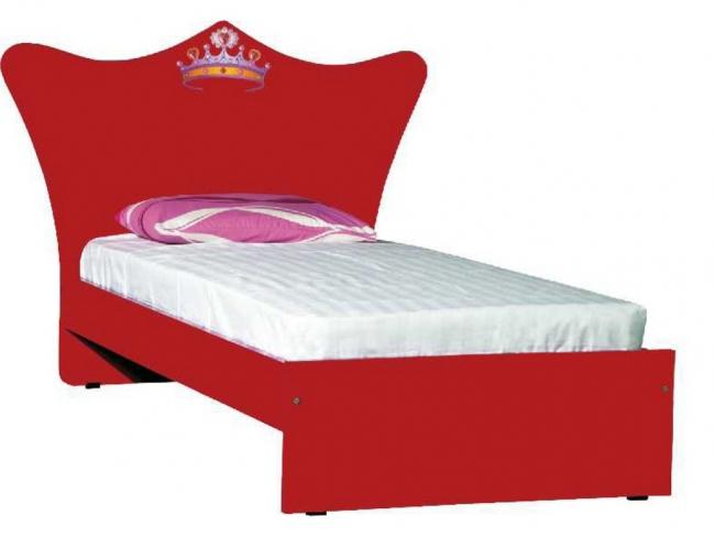 Παιδικό Κρεβάτι Κορώνα (90x190cm) Μονό