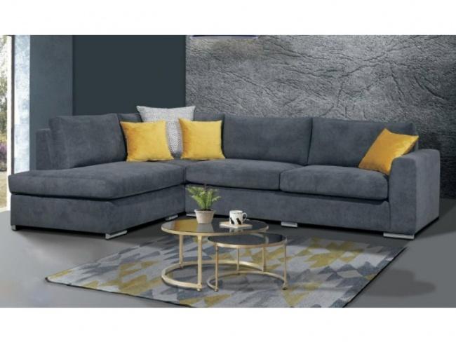 Γωνιακός καναπές BRUNO 2.80 x 2.20m - 1